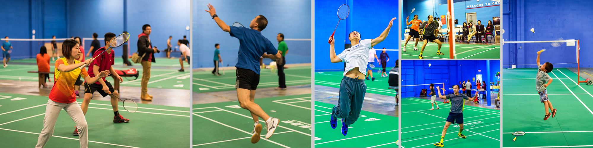 Learn to play badminton